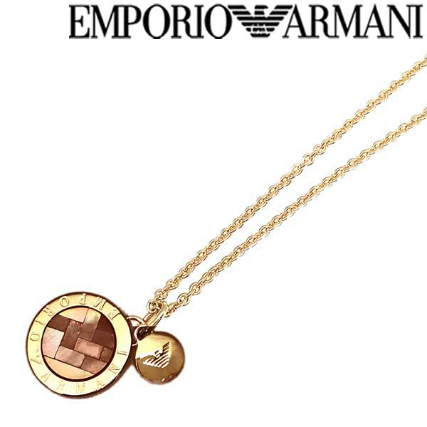 EMPORIO ARMANI ネックレス エンポリオアルマーニ メンズ&レディース ゴールド EG3375221 ブランド