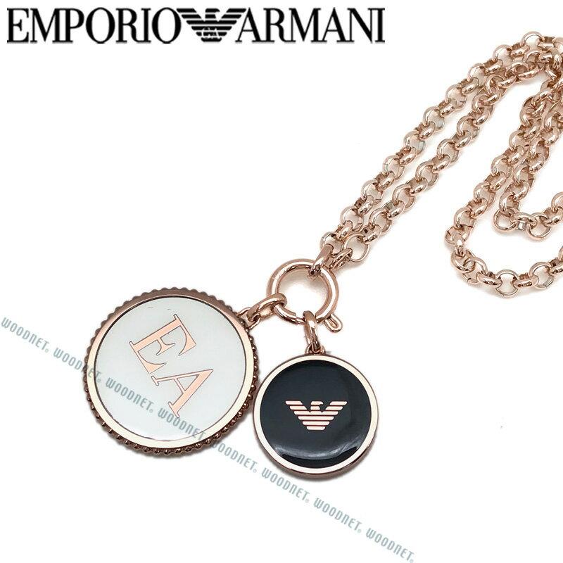EMPORIO ARMANI ネックレス エンポリオアルマーニ メンズ&レディース プレート ゴールド EGS2585221
