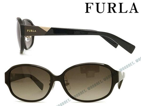 FURLA サングラス フルラ レディース ベージュグラデーション SFU-221J-700N ブランド