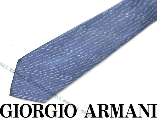 GIORGIO ARMANI ジョルジオアルマーニ シルク ネクタイ スカイブルー 360087-7A921-00031 ブランド/メンズ/男性用