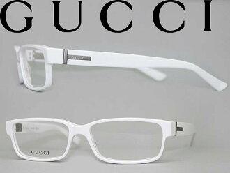 GUCCI 안경 화이트 구찌 안경 프레임 안경 GUC-GG-1651-KT9 브랜드/맨즈&레이디스/남성용&여성용/도 첨부・다테・돋보기・칼라・PC용 PC안경 렌즈 교환 대응/렌즈 교환은 6,800엔~