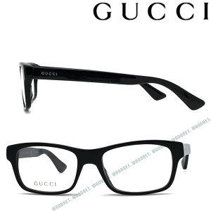 GUCCI メガネフレーム グッチ メンズ&レディース ブラック 眼鏡 GUC-GG-0006O-001 ブランド