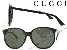 GUCCI サングラス UVカット グッチ ブラック メンズ&レディース GUC-GG-0261SA-001 ブランド