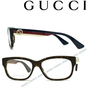 GUCCI メガネフレーム グッチ メンズ&レディース ダークマーブルブラウン 眼鏡 GUC-GG-0278O-002 ブランド