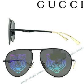 GUCCI サングラス グッチ メンズ&レディース ブラック×マルチカラー タイガー GUC-GG-0334S-002 ブランド