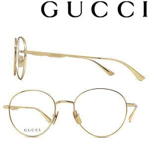 GUCCI メガネフレーム グッチ メンズ&レディース ゴールド 眼鏡 GUC-GG-0337O-008 ブランド