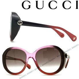 GUCCI サングラス UVカット グッチ レディース グラデーションバイオレットサングラス UVカット GUC-GG-0368S-005 ブランド