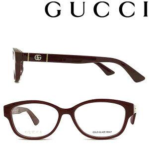 GUCCI メガネフレーム グッチ メンズ&レディース バーガンディー 眼鏡 GUC-GG-0639OA-003 ブランド