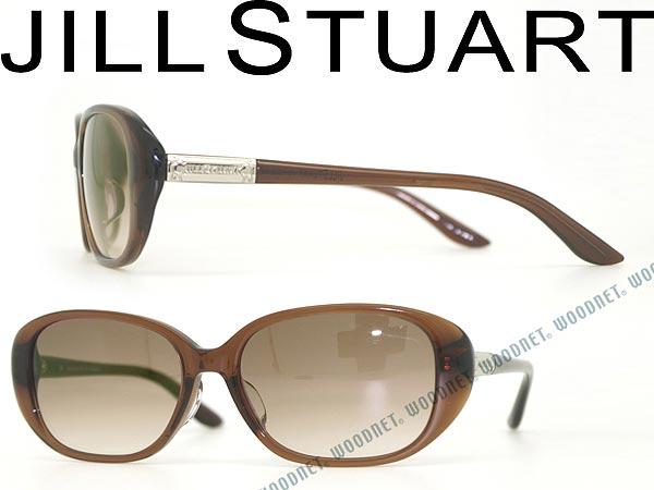 JILL STUART ジルスチュアート グラデーションブラウン サングラス JS-06-0568-01 ブランド/レディース/女性用/紫外線UVカットレンズ/ドライブ/釣り/アウトドア/おしゃれ