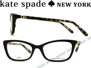 KATE SPADE ケイトスペード ブラック メガネフレーム めがね 眼鏡 KS-DELACY-7KI ブランド/レディース/女性用/度付き・伊達・老眼鏡・カラー・パソコン用PCメガネレンズ交換対応/レンズ交換は6,800