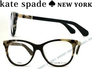 KATE SPADE ケイトスペード ブラック メガネフレーム めがね 眼鏡 KS-JOHNNA-WR7 ブランド/レディース/女性用/度付き・伊達・老眼鏡・カラー・パソコン用PCメガネレンズ交換対応/レンズ交換は6,800