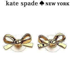 KATE SPADE ケイトスペード リボン ピアス ゴールド WBRU4809-711 ブランド/レディース/女性用
