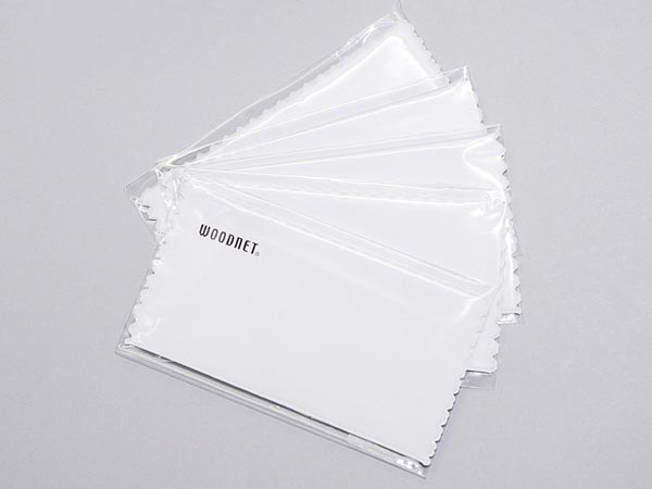 高性能メガネクロス(メガネ拭き)【5枚セット】 ホワイト アイウェア備品 DIL-CLOTH001-5P ブランド