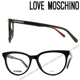 LOVE MOSCHINO メガネフレーム ラブモスキーノ メンズ&レディース ブラック 眼鏡 MOL-519-807 ブランド