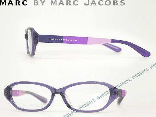 マークバイマークジェイコブス MARC BY MARC JACOBS メガネフレーム 眼鏡 めがね MMJ-0049F-0XP クリアパープル ブランド/メンズ&レディース/男性用&女性用/度付き・伊達・老眼鏡・カラー・パソコン用PCメガネレンズ交換対応/レンズ交換は6,800円〜