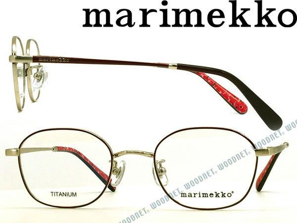 marimekko マリメッコ ブラッシュライトゴールド メガネフレーム 眼鏡 MA-32-0017-02 ブランド/レディース/女性用/度付き・伊達・老眼鏡・カラー・パソコン用PCメガネレンズ交換対応/レンズ交換は6,800円〜