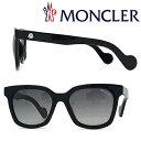 MONCLER サングラス UVカット モンクレール メンズ&レディース グラデーションブラック ML-0040-01A ブランド
