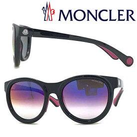 MONCLER サングラス UVカット モンクレール メンズ&レディース パープルミラー ML-0087-01C ブランド