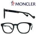 MONCLER メガネフレーム モンクレール メンズ&レディース ブラック 眼鏡 ML-5039-001
