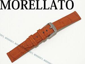 MORELLATO モレラ?ト サッカー ラバーカーフ 腕時計ベルト オレンジ 時計 バンド X4497-SOCCER-B44-086 ブランド/メンズ&レディース/男性用&女性用