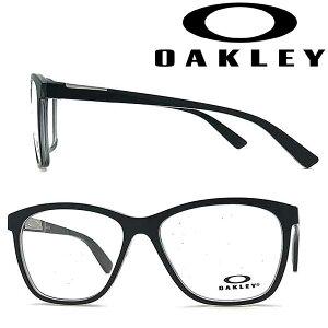 OAKLEY メガネフレーム オークリー レディース ALIAS ポリッシュドシャドーグレー 眼鏡 0OX-8155-01 ブランド