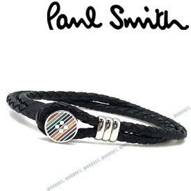 Paul Smith ブレスレット ポールスミス メンズ&レディース ブラック×マルチカラー M1ABRAC-AEBUTT79 ブランド