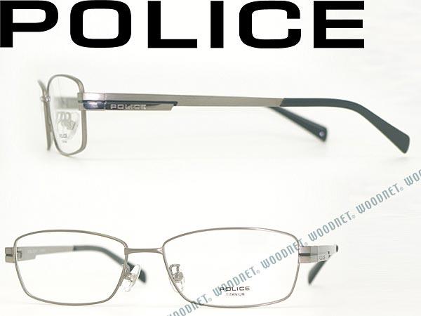 POLICE ポリス シャーリンググレー メガネフレーム 眼鏡 めがね POLICE-VPL309J-0G33 ブランド/メンズ&レディース/男性用&女性用/度付き・伊達・老眼鏡・カラー・パソコン用PCメガネレンズ交換対応