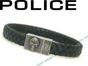 POLICE ポリス ブラックブレスレット ETERNAL-01 ブランド/メンズ&レディース/男性用&女性用
