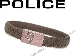 POLICE ポリス ブラウンブレスレット ETERNAL-03 ブランド/メンズ&レディース/男性用&女性用