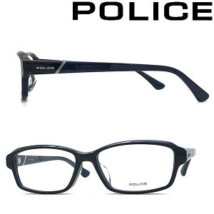 POLICE メガネフレーム ポリス メンズ&レディース クリアーダークネイビー 眼鏡 POLICE-VPLB95J-03LW ブランド