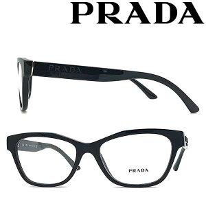 PRADA メガネフレーム プラダ メンズ&レディース ブラック 眼鏡 0PR-03WV-1AB1O1 ブランド