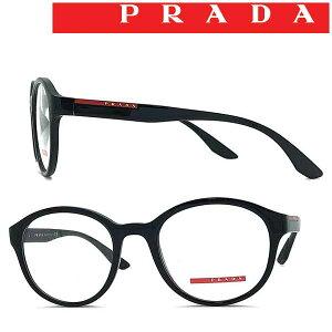PRADA LINEA ROSSA メガネフレーム プラダリネアロッサ メンズ&レディース ブラック 眼鏡 0PS-01NV-1AB1O1 ブランド