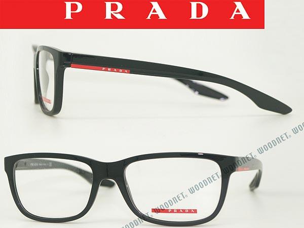 【人気モデル】PRADA LINEA ROSSA メガネフレーム プラダリネアロッサ 眼鏡 ブラック×マットブラック めがね 0PS-02GV-UB71O1 ブランド/メンズ&レディース/男性用&女性用/度付き・伊達・老眼鏡・カラー・パソコン用PCメガネレンズ交換対応
