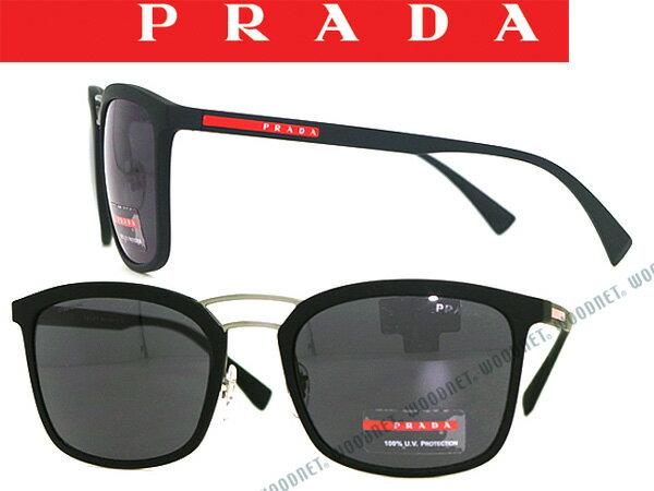 プラダリネアロッサ PRADA LINEA ROSSA サングラス ブラック 0PS-03SS-DGO5SO ブランド/メンズ&レディース/男性用&女性用/紫外線UVカットレンズ/ドライブ/釣り/アウトドア/おしゃれ