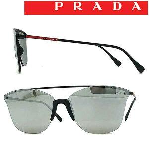 PRADA LINEA ROSSA サングラス UVカット メンズ&レディース プラダリネアロッサ シルバーミラー 縁なし 0PS-52US-DGO2BO ブランド