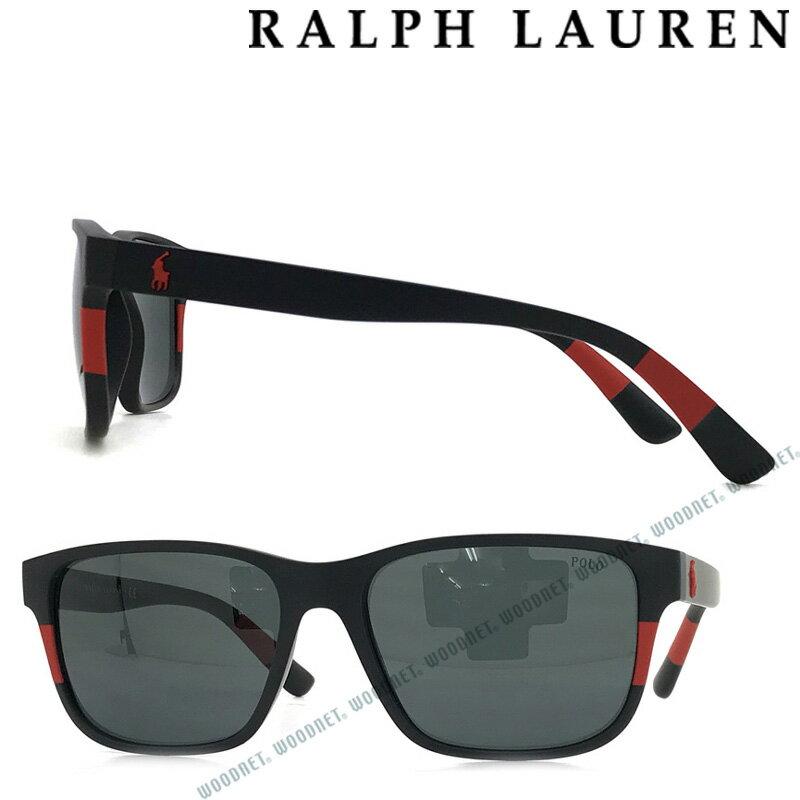 RALPH LAUREN サングラス ラルフローレン メンズ&レディース ブラック 0PH-4137-5284-87 ブランド