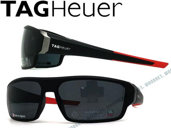 TAG Heuer タグホイヤー ブラック サングラス TH-9222-101 ブランド/メンズ&レディース/男性用&女性用/紫外線UVカットレンズ/ドライブ/釣り/アウトドア/おしゃれ