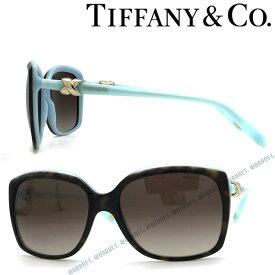 Tiffany & Co. サングラス ティファニー レディース グラデーションブラウン 0TF-4076-81343B ブランド