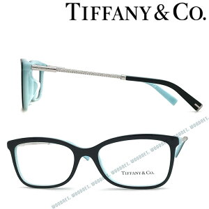 Tiffany & Co. メガネフレーム ティファニー レディース ブラック×スカイブルー TF2169F-8055 ブランド