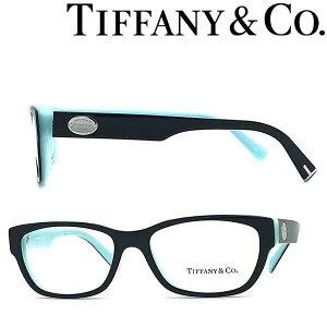 Tiffany & Co. メガネフレーム ティファニー レディース ブラック×スカイブルー TF2172F-8291 ブランド