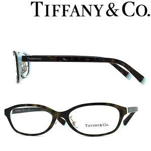 Tiffany & Co. メガネフレーム ティファニー レディース マーブルブラウン×スカイブルー TF2182D-8134 ブランド