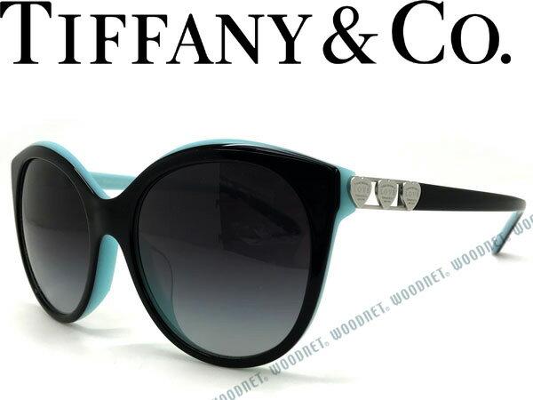 Tiffany & Co. ティファニー サングラス グラデーションブラック TF4133F-80553C ブランド/レディース/女性用/紫外線UVカットレンズ/ドライブ/釣り/アウトドア/おしゃれ