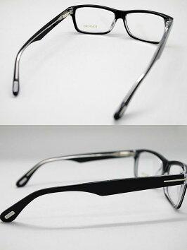 TOMFORDめがねトムフォードメガネフレーム眼鏡ブラック×クリアアイウェアTF-5146-003WN0035
