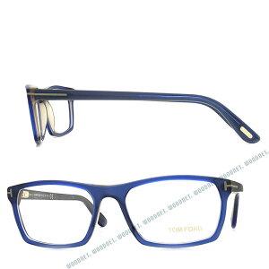 TOM FORD メガネフレーム トムフォード メンズ&レディース マットクリアブルー×クリアーブラック 眼鏡 TF-5295-092 ブランド