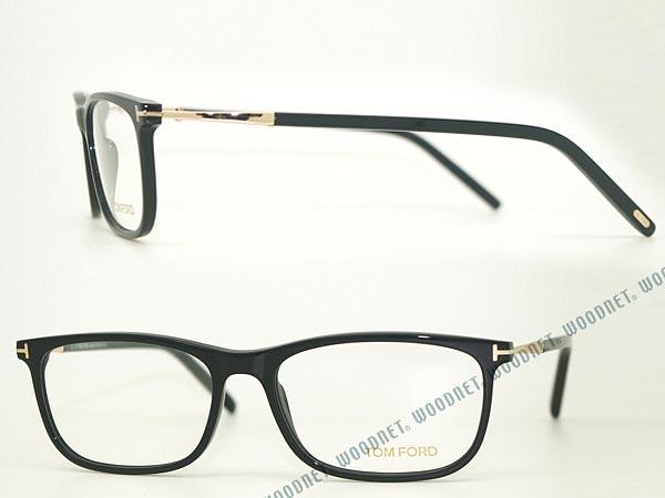 メガネフレーム TOM FORD ブラック トムフォード 眼鏡 めがね TF-5398-001 ブランド/メンズ&レディース/男性用&女性用/度付き・伊達・老眼鏡・カラー・パソコン用PCメガネレンズ交換対応/レンズ交換は6,800円〜