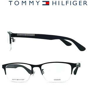 TOMMY HILFIGER メガネフレーム トミーヒルフィガー ブラック 眼鏡 TO-1583F-003 ブランド