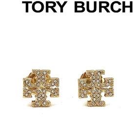 TORY BURCH ピアス トリーバーチ レディース クリスタルロゴ ゴールド 53423-783 ブランド