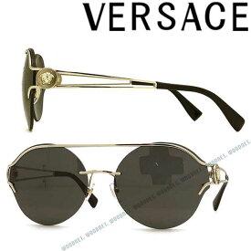 VERSACE サングラス ヴェルサーチ メンズ&レディース ブラック 0VE-2184-1252-87 ブランド