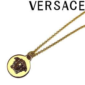 VERSACE ネックレス ベルサーチ メンズ&レディース ゴールド メドゥーサ ロゴ DG1F009-DJMT-D00O ブランド