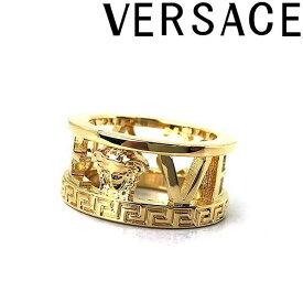 VERSACE リング・指輪 ベルサーチ メンズ&レディース ロゴ ゴールド DG57557-DJMT-D00H ブランド
